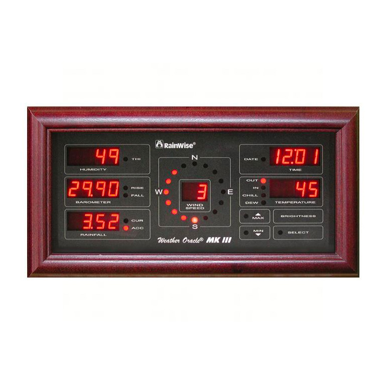 Weather Oracle Multi-LR Display Cherry Frame
